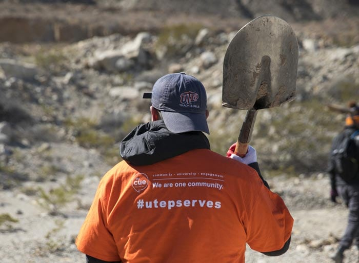 Miners Give Back: UTEP Students Perform 1.5 Million Hours of Service