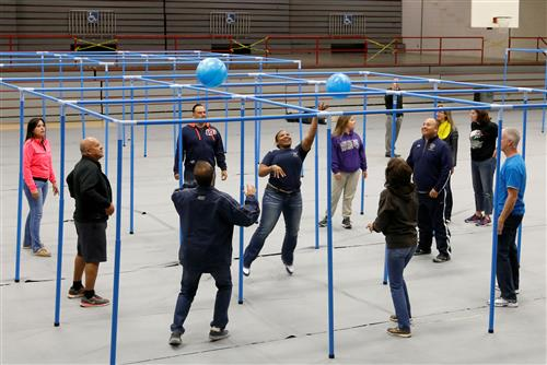 El Paso ISD P.E. Coaches try out New, Innovative Games for Elementary Schools