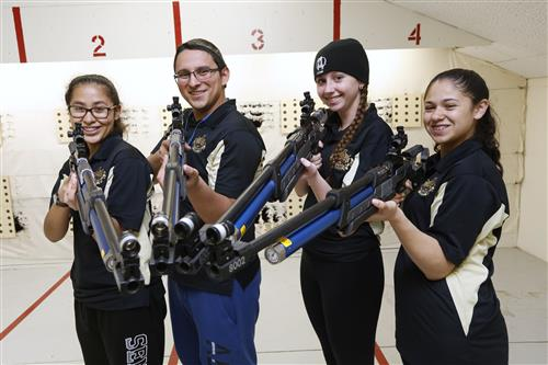 Austin JROTC Rifle Team aims for Greatness