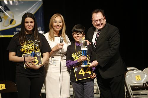 Video+Story: Wiggs Middle Sixth Grader Wins EPISD Spanish Spelling Bee