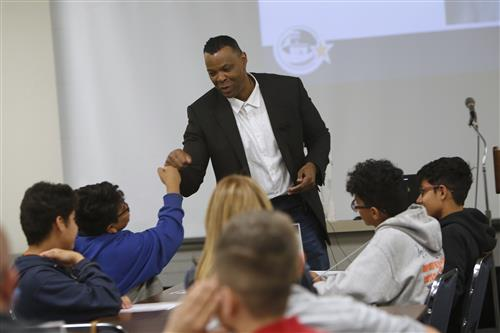 El Paso ISD Boys get Leadership Training Through Project MALES