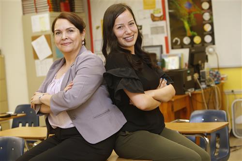 Like Teacher, Like Student: Veteran Teacher, Former Student now Teacher of the Year Finalists