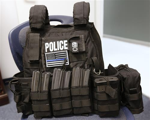 Grant Helps EPISD Police Buy New Bulletproof Vests