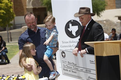 Austin High Art Teacher Honored With Prestigious Holocaust Commission Award
