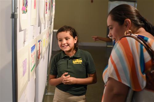 Video+Story: Aoy, Lamar Students Exhibit Work at El Paso Museum of Art