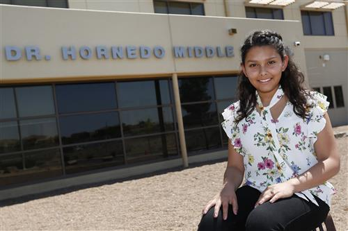 Hornedo Student to Represent EPISD in National Medical Conference