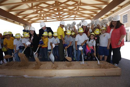 Video+Story: Groundbreaking Ceremony Marks Starts of Major Construction at Crockett