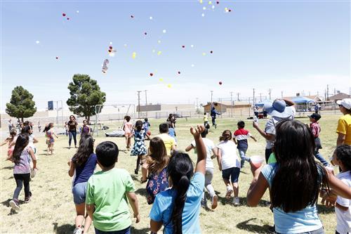 Video+Story: Students, Community bid Farewell to Burnet Elementary
