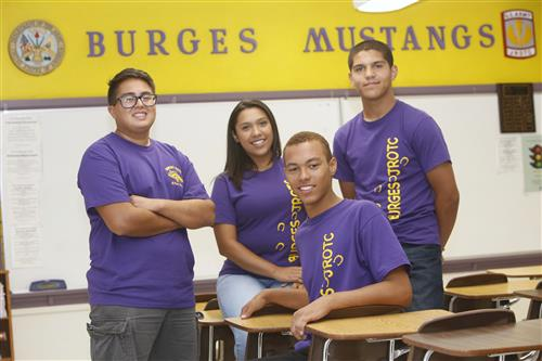 Burges Students Compete in National JROTC Academic Bowl