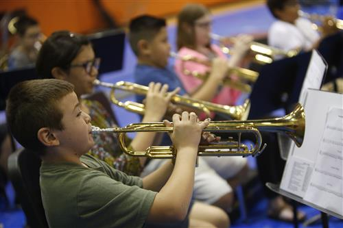 Summer Band Camp lets Ross, Wiggs Students Practice Their Skills
