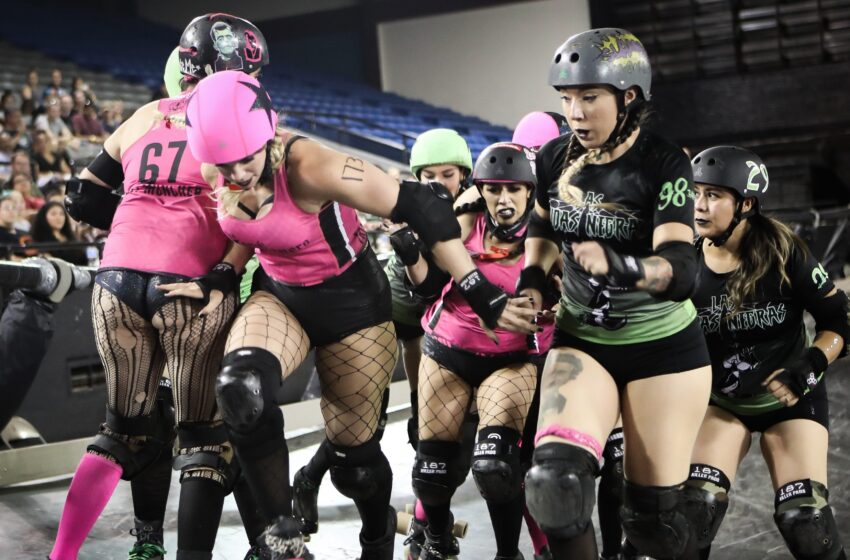 Story in Many Pics: Borderland Roller Derby Rolls Into Coliseum
