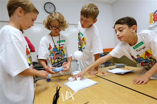 Lundy Elementary STEAM Camp Inspires Students