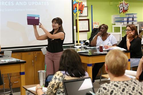 Story+Links: EPISD Planetarium Shows Teachers Safe Ways to View Historic Eclipse