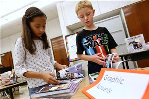 Bond Elementary Students Embrace Reading with a New Book