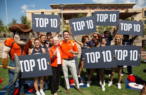 UTEP honored by Washington Monthly Magazine once again