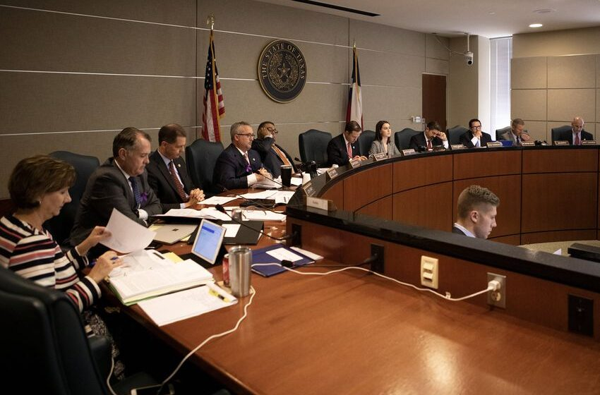 In the Texas House, property tax legislation is being handled with a different speed — and tone