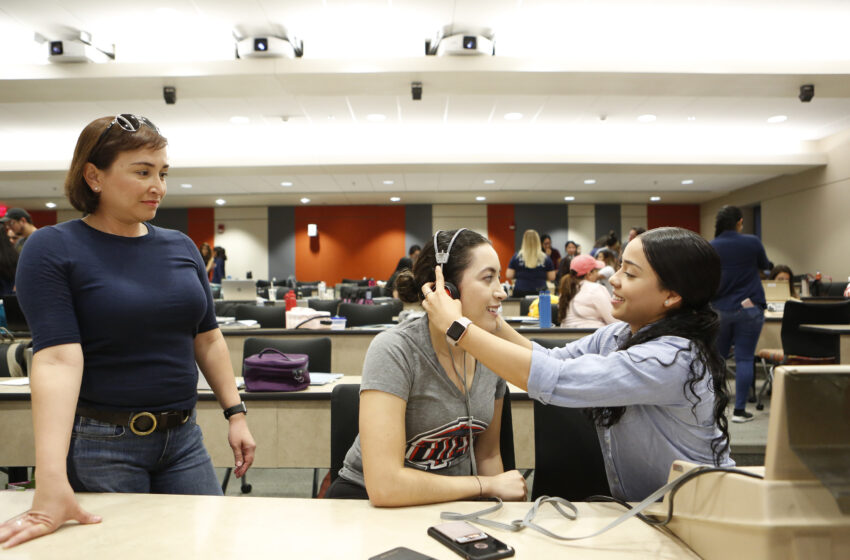 UTEP Nursing and Health Professions Students Benefit from Community Engagement
