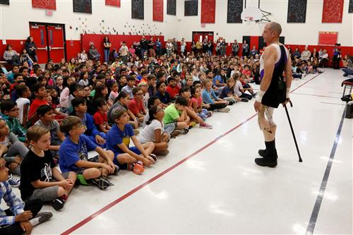 Yes You Can: Paralympian Inspires Polk, Mesita Students