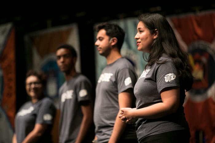 UTEP Students Add 'Edge' to 2017 Convocation