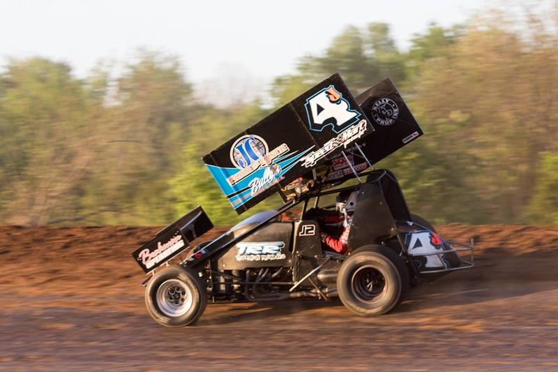 Local Sprint Car Racer Carney II Ends Double Header Weekend in 2nd Place
