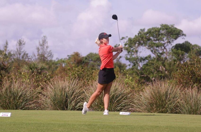 UTEP Women's Golf Posts Strong First Day at Maricopa