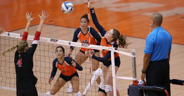 UTEP Volleyball Falls to New Mexico in Glory Road Invitational