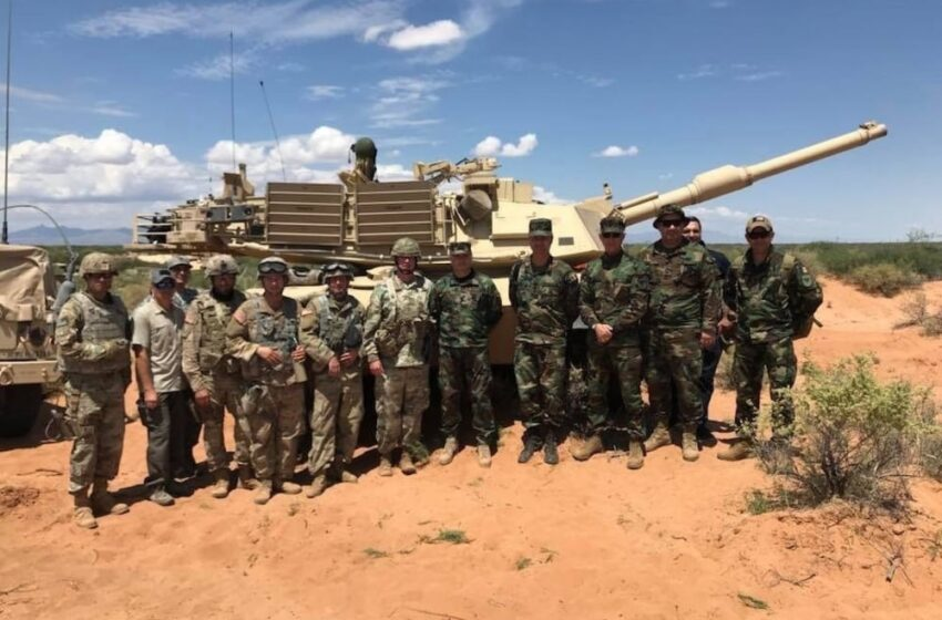 Moldovan, National Guard Soldiers Team Up for Training at Fort Bliss