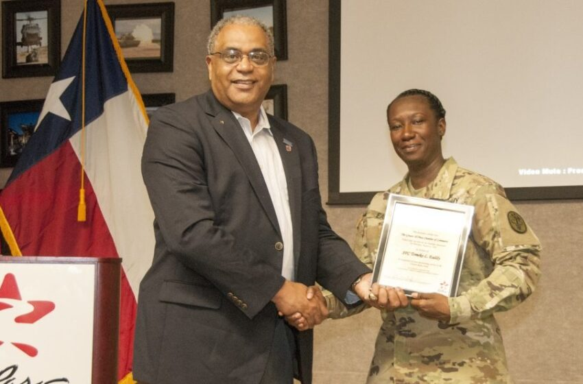William Beaumont AMC Soldier Honored for Dedication to Homeless Causes