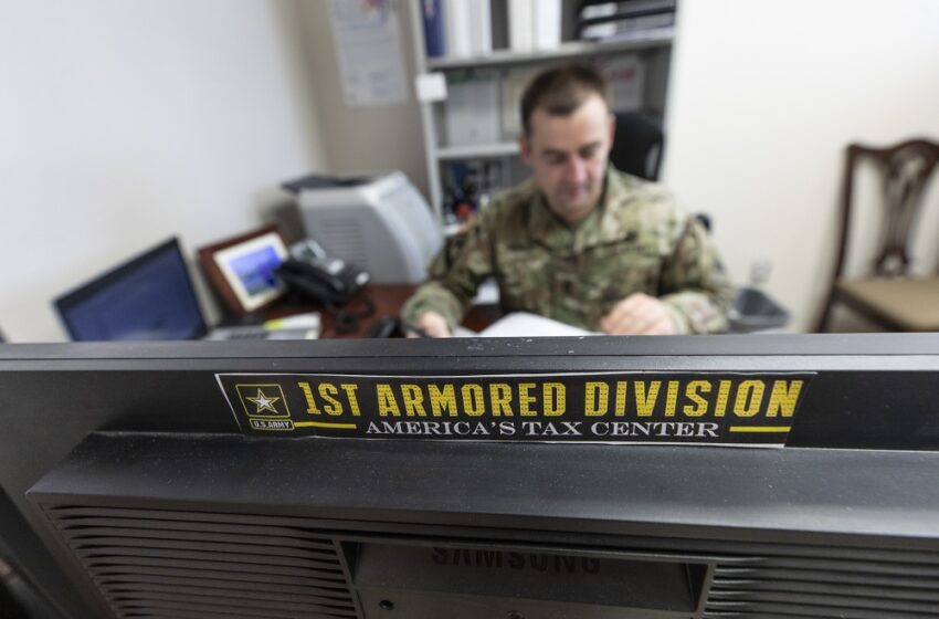 Soldier on: Against odds, Fort Bliss Tax Center serving Customers