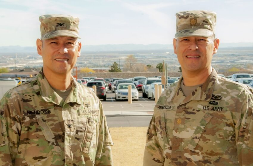 Bound by Blood, Serving by Choice; Brothers Meet Once Again at Fort Bliss