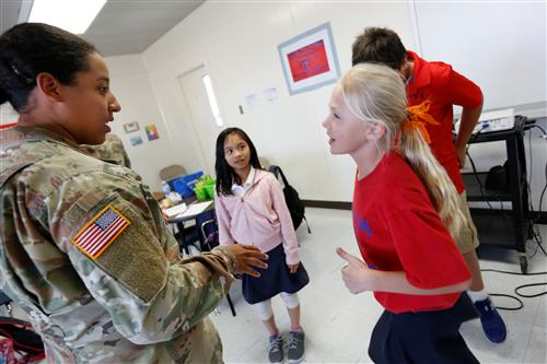 Fearless Falcons Program helps Bliss Elementary Students Cope, Lead