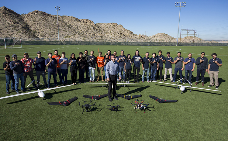 Progress of Unmanned Aerial Systems Program at UTEP is Soaring