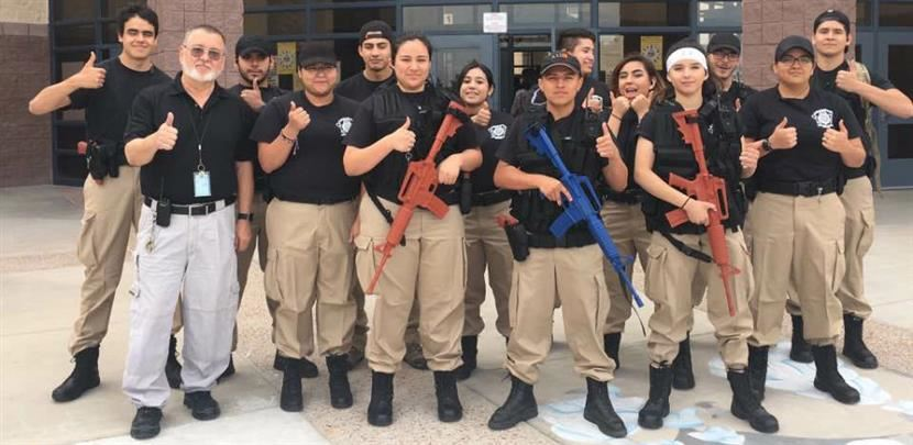 Americas Law Enforcement Club Training to Prepare for Competitions