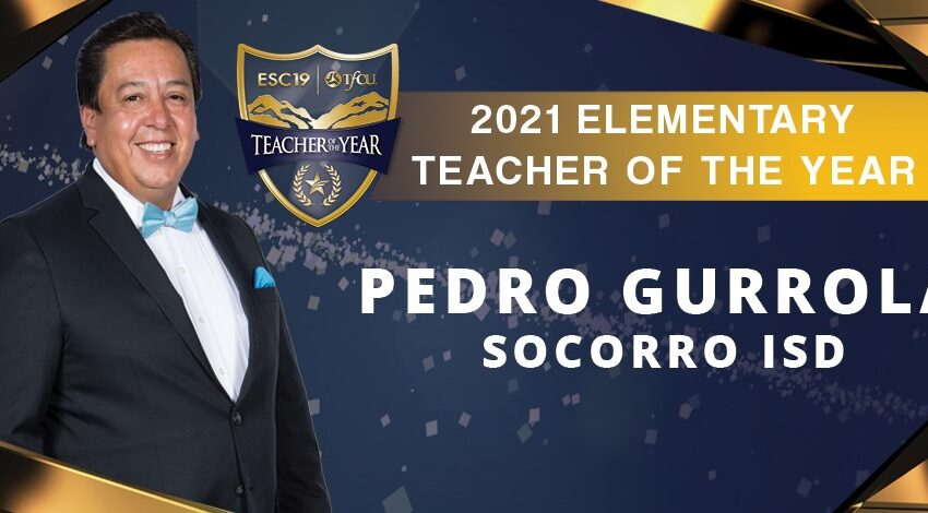 Socorro ISD educator named Region 19 Elementary Teacher of the Year