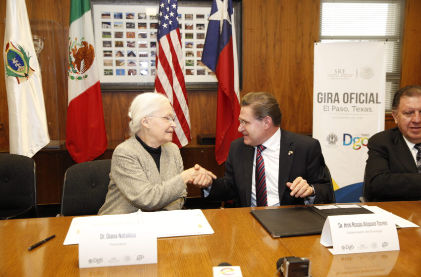 UTEP Partners with Durango, Mexico to Promote Educational Opportunities