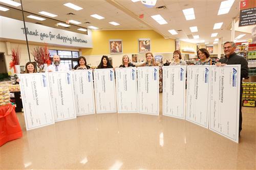 Video+Story: Albertsons Donates $44,000 to El Paso ISD Schools