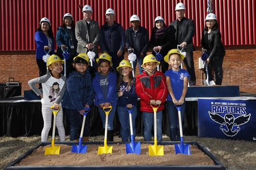 Video+Story: EPISD Celebrates Torres Elementary Groundbreaking