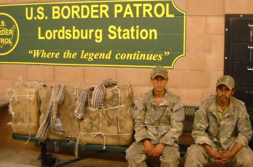 Border Patrol Agents snag 329lbs of pot; Arrest convicted felon