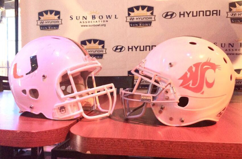 Sun Bowl snags Miami, Washington State for annual game