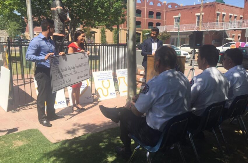 El Paso Fire Fighters Fill the Boot Campaign Starts Thursday