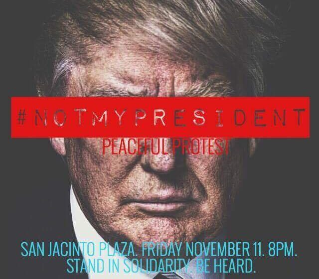Group To Stage Peaceful Protest Against President-Elect Trump on Friday