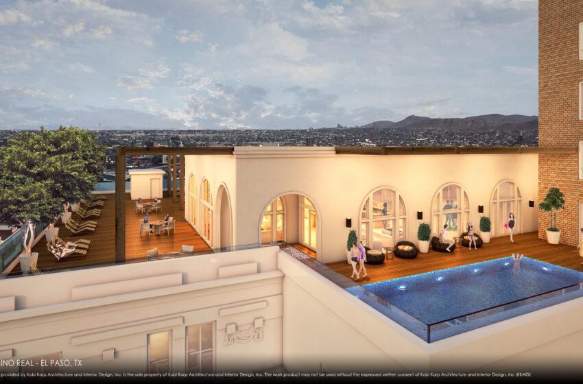 Gallery+Story: Renderings for Restored Hotel Paso del Norte Revealed