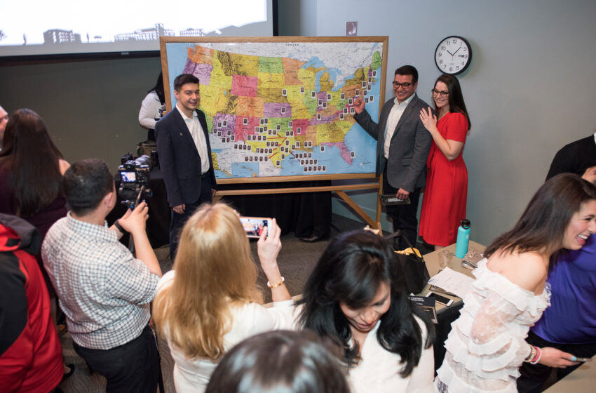 Video+Gallery+Story: Record Number of PLFSOM Students Match to Residency Programs