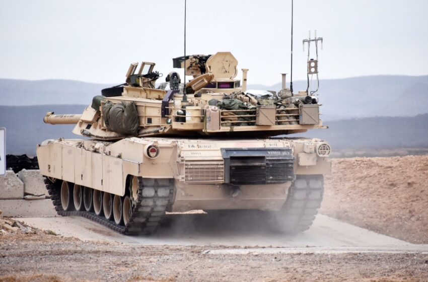 1-1 CAV Tests New Active Protection System for Tanks