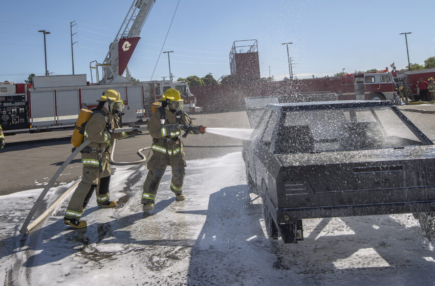 EPCC Holds Grand Opening for New Fire Training Academy