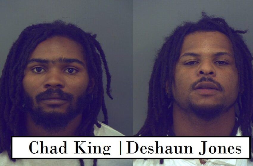 Two arrested after allegedly shooting at car on US54
