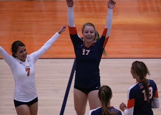 UTEP Volleyball Sweeps Middle Tennessee