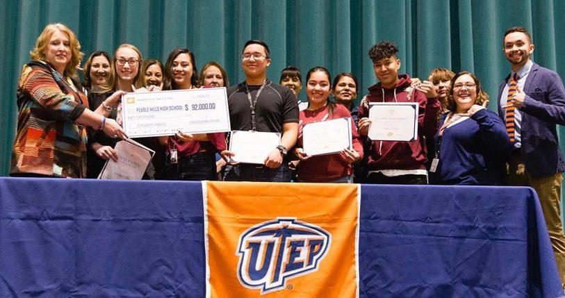 UTEP Awards $1M+ in Scholarships to Socorro ISD Students