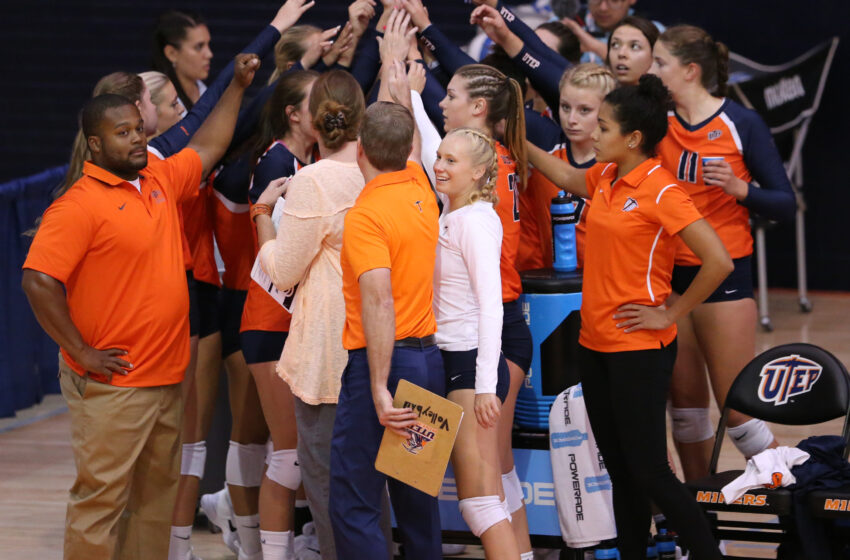American Volleyball Coaches Association Honors UTEP Volleyball Team