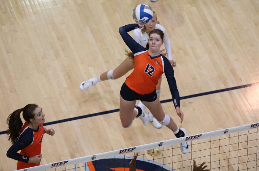 UTEP Volleyball Macey Austin Earns C-USA Preseason Team Honors